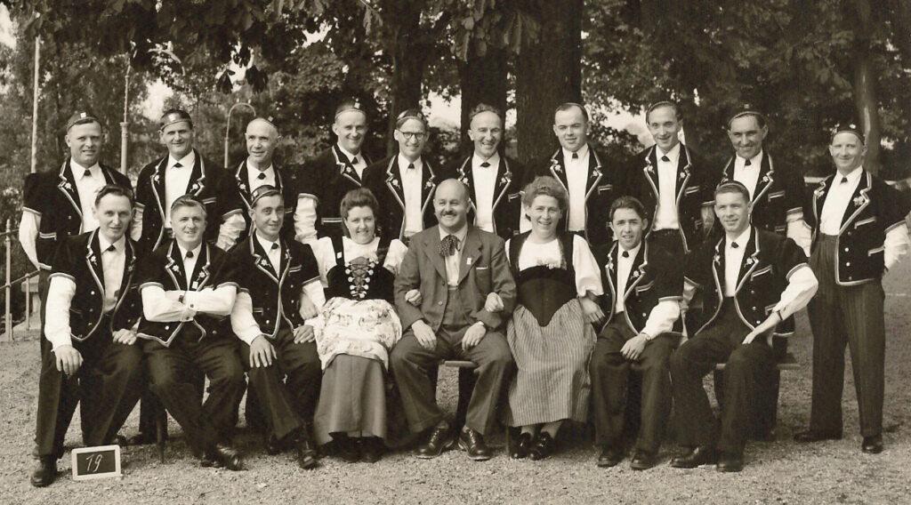 Das Älteste gefundene Bild vom JCE 1949