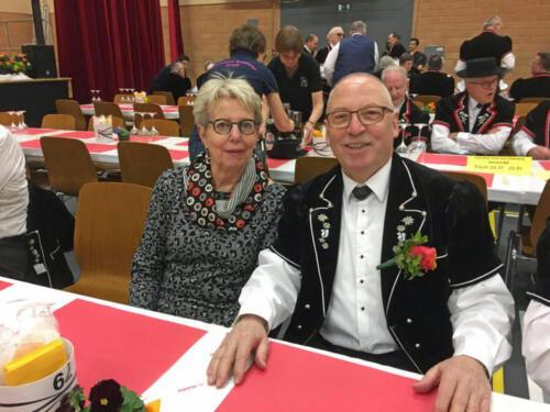 Veteran Franz mit Gattin Jeanette